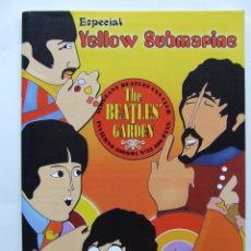 Revistas de música: THE BEATLES' GARDEN 32 2000 ESPECIAL YELLOW SUBMARINE AUTE GEORGE DUNNING VINILO ESPAÑOL. Lote 201841412