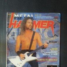 Revistas de música: REVISTA METAL HAMMER NÚMERO 9 AÑO 1988. METALLICA, LED ZEPPELIN, BON JOVI. Lote 136682650