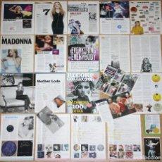 Revistas de música: MADONNA COLECCIÓN PRENSA 1990S/2010S UK CLIPPINGS MAGAZINE ARTICLES CUTTINGS PHOTOS MUSIC. Lote 137488638