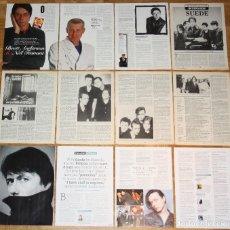 Revistas de música: SUEDE BRETT ANDERSON LOTE PRENSA 1990S/10S CLIPPINGS PHOTOS MAGAZINE ARTICLES BRITPOP. Lote 137493022