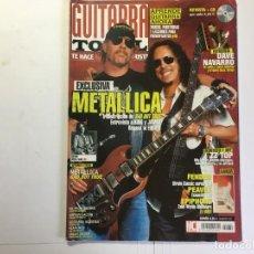 Revistas de música: REVISTA GUITARRA TOTAL Nº 69 - METALLICA. Lote 138641142
