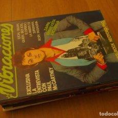 Revistas de música: VIBRACIONES ~ LOTE 14 REVISTAS ~ LIQUIDACION ~ 55~61~63~65~67~73~74~76~80~81~82~85~86~90. Lote 138667326