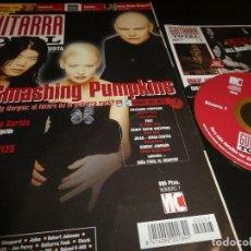 Revistas de música: GUITARRA TOTAL - SMASHING PUMPKINS - REVISTA + CD - Nº 7.. Lote 138669894