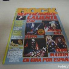 Revistas de música: SEPTIEMBRE CALIENTE-AC DC.JETHRO TULL --ZAPPA --IRON MAIDEN -NO 37 AÑO 1984. Lote 173645697