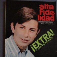 Revistas de música: ALTA FIDELIDAD EXTRA // JOHNNY HALLYDAY //THE BEATLES // RAPHAEL // CLAUDE FRANCOIS // ELVIS -. Lote 138740534