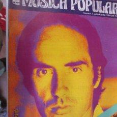 Revistas de música: MÚSICA POPULAR Nº 3 JULIO-AGOSTO 1984 - LLUIS LLACH. Lote 138828542
