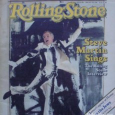 Revistas de música: ROLLING STONE MAGAZINE 1982/ STEVE MARTINS SINGS/ INTERVIEW/ ISSUE NO. 363. Lote 138846770