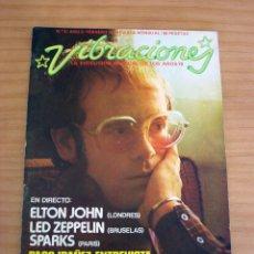 Revistas de música: VIBRACIONES - N.º 5 - AÑO 1975 - PÓSTER EN PÁGINAS CENTRALES - MUY BUEN ESTADO. Lote 138955898