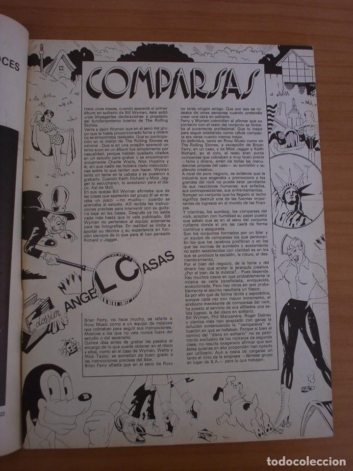 Revistas de música: VIBRACIONES - N.º 5 - AÑO 1975 - PÓSTER EN PÁGINAS CENTRALES - MUY BUEN ESTADO - Foto 2 - 138955898