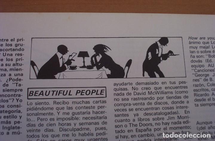 Revistas de música: VIBRACIONES - N.º 5 - AÑO 1975 - PÓSTER EN PÁGINAS CENTRALES - MUY BUEN ESTADO - Foto 7 - 138955898