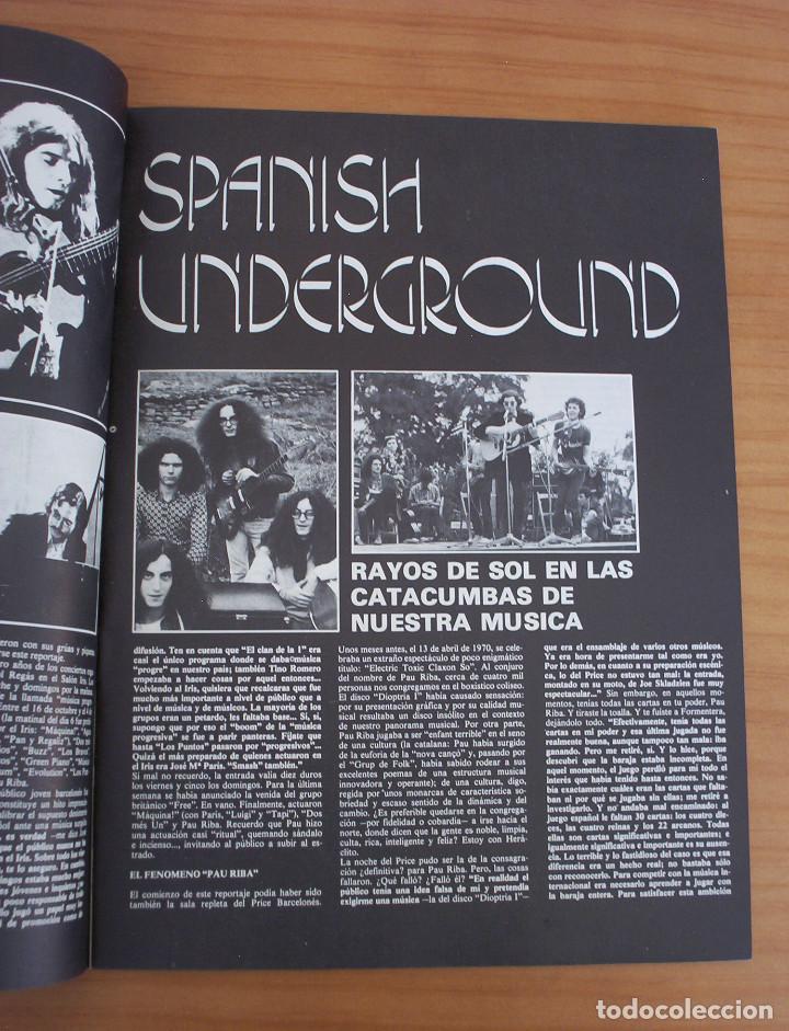 Revistas de música: VIBRACIONES - N.º 5 - AÑO 1975 - PÓSTER EN PÁGINAS CENTRALES - MUY BUEN ESTADO - Foto 8 - 138955898