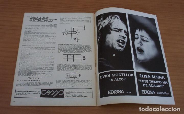 Revistas de música: VIBRACIONES - N.º 5 - AÑO 1975 - PÓSTER EN PÁGINAS CENTRALES - MUY BUEN ESTADO - Foto 9 - 138955898