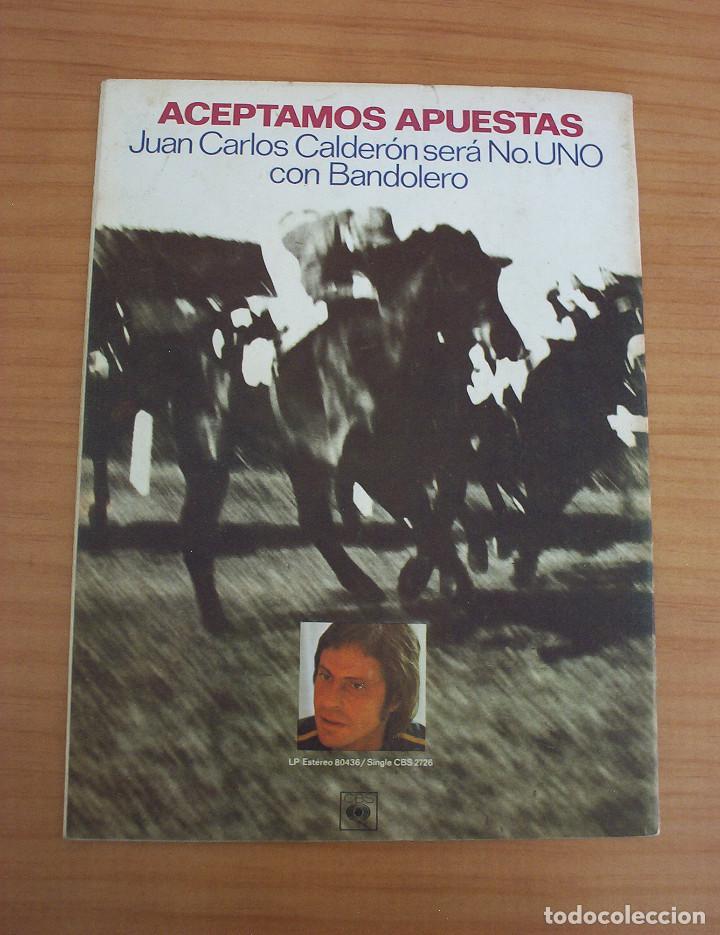 Revistas de música: VIBRACIONES - N.º 5 - AÑO 1975 - PÓSTER EN PÁGINAS CENTRALES - MUY BUEN ESTADO - Foto 10 - 138955898