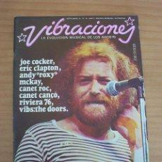 Revistas de música: VIBRACIONES - N.º 24 - AÑO 1976 - CONTIENE POSTERS - MUY BUEN ESTADO. Lote 139002798