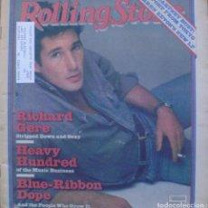Revistas de música: ROLLING STONE MAGAZINE 1980/ RICHARD GERE/ HEAVY HUNDRED/ ISSUE NO. 312. Lote 139053210