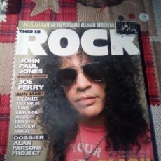 Revistas de música: REVISTA ROCK. Lote 139089278