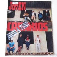 Revistas de música: REVISTA MUNDO JOVEN Nº 72 (1970) DUO DINAMICO, CANARIOS, CROSBY S. N. & Y + POSTER, ROSALIA, GOGOS. Lote 139176998