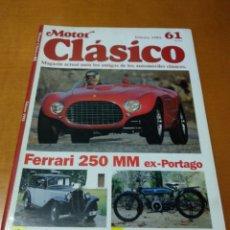 Revistas de música: MOTOR CLÁSICO, 1993. N 61. Lote 139218909