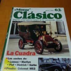 Revistas de música: MOTOR CLÁSICO, 1993. N 62. Lote 139219140