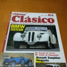 Revistas de música: MOTOR CLÁSICO, 1993. N 64. Lote 139219518