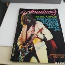 Revistas de música: ANTIGUA REVISTA VIBRACIONES Nº 26 EXTRA NO CONTIENE POSTER. Lote 139316206