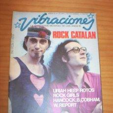 Magazines de musique: VIBRACIONES - N.º 23 - AÑO 1976 - CONTIENE PÓSTERS - MUY BUEN ESTADO. Lote 139475846