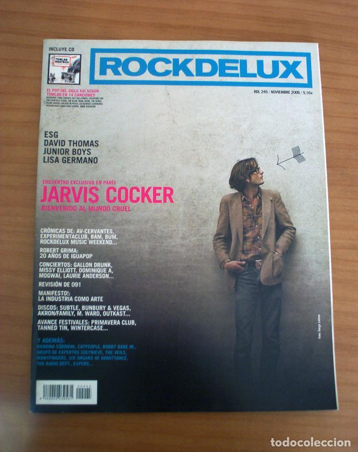 ROCKDELUXE - NÚMERO 245 - AÑO 2006 - MUY BUEN ESTADO (Música - Revistas, Manuales y Cursos)