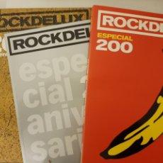 Revistas de música: ESPECIALES ROCKDELUX. 3 REVISTAS: ESPECIAL 200, 2000-2009 RESUMEN DE LA DÉCADA, 100 MEJORES SIGLO XX. Lote 139792277