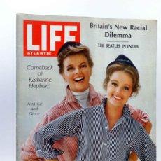 Revistas de música: REVISTA LIFE ATLANTIC. MARCH 18 1968. THE BEATLES IN INDIA. (VVAA), 1968. Lote 139867480