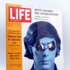 Revistas de música: REVISTA LIFE ATLANTIC. SEPTEMBER 16 1968. BEATLE LENNON'S LITTLE FRIEND YOKO ONO. THE BEATLES, 1968. Lote 139867484