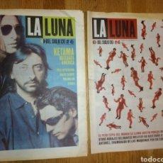 Revistas de música: LA LUNA DEL SIGLO XXI NR 45,46. Lote 139906434