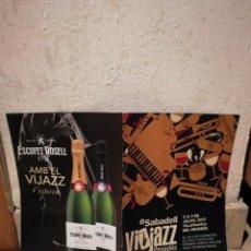 Revistas de música: REVISTA OFICIAL - VIJAZZ - MUSICA - JAZZ - 2017 - VILAFRANCA DEL PENEDES - VINO CAVA. Lote 140059354