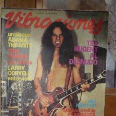 Revistas de música: REVISTA VIBRACIONES NUMERO 82 - DE 1981.. Lote 140478950