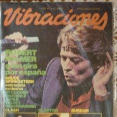 Revistas de música: REVISTA VIBRACIONES NUMERO 81 - DE 1981.. Lote 140479978