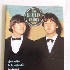 Revistas de música: THE BEATLES' GARDEN 37 2002 A HARD DAY'S NIGHT POLYDOR MURRAY KAUFMAN APPLE VINILO ESPAÑOL. Lote 201840732