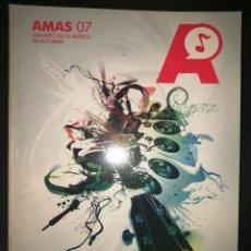 Revistas de música: ANUARIO DE LA MUSICA EN ASTURIAS-AMAS 07 + CD + DVD. Lote 142155274