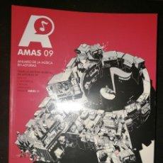 Revistas de música: ANUARIO DE LA MUSICA EN ASTURIAS-AMAS 09 + CD + DVD. Lote 142155570