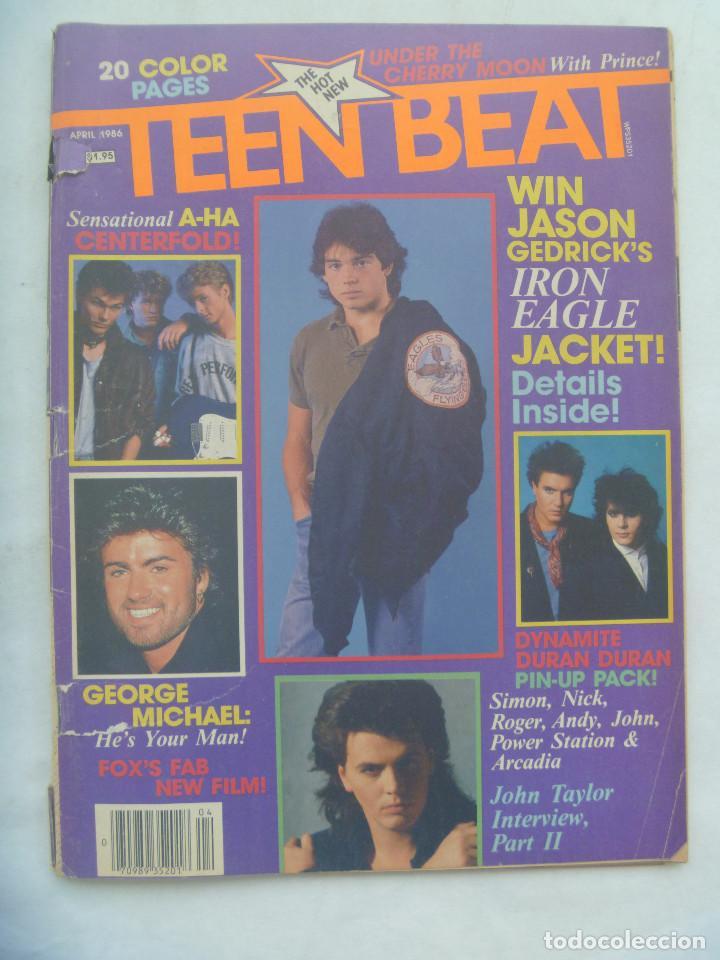 REVISTA DE MUSICA PARA ADOLESCENTES DE INGLATERRA : TEEN BEAT . ABRIL 1986. EN INGLES (Música - Revistas, Manuales y Cursos)
