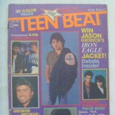 Revistas de música: REVISTA DE MUSICA PARA ADOLESCENTES DE INGLATERRA : TEEN BEAT . ABRIL 1986. EN INGLES. Lote 142355490