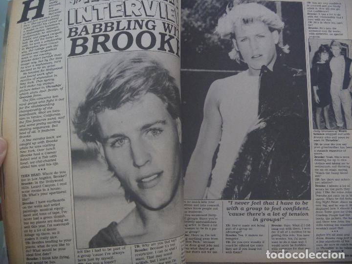 Revistas de música: REVISTA DE MUSICA PARA ADOLESCENTES DE INGLATERRA : TEEN BEAT . ABRIL 1986. EN INGLES - Foto 3 - 142355490