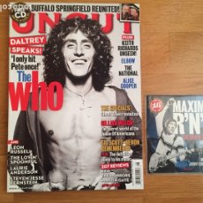 Revistas de música: UNCUT #171 AUGUST 2011 + CD: THE WHO, THE SPECIALS, GILLIAN WELCH.... Lote 142429488