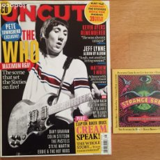 Revistas de música: UNCUT #192 MAY 2013 + CD: THE WHO, KEVIN AYERS, JEFF LYNNE, CREAM.... Lote 142430422
