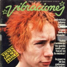 Revistas de música: REVISTA VIBRACIONES Nº 39 - 1977 - FALTAN LOS POSTERS CENTRALES - GUERRA DE LAS GALAXIAS,RAMONCIN... Lote 143093166