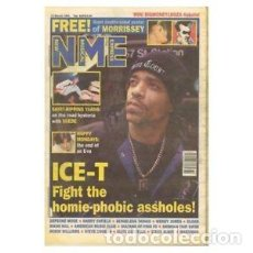 Revistas de música: NEW MUSICAL EXPRESS - 13 MARCH 1993 - ICE-T. Lote 143682026