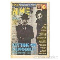Magazines de musique: NEW MUSICAL EXPRESS - 20 MARCH 1993 - DAVID BOWIE & BRETT ANDERSON. Lote 143683030