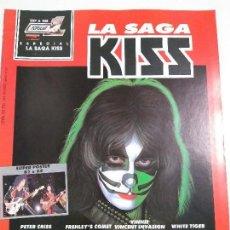 Revistas de música: REVISTA - LA SAGA KISS - POPULAR 1 ESP A 108 - CONTIENE POSTER - MUY BUEN ESTADO. Lote 143704842