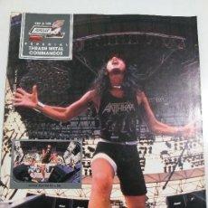 Revistas de música: ESPECIAL POPULAR 1 - Nº105 THRASH METAL COMMANDOS - AÑO 1988 - INCLUYE POSTER. Lote 143705218