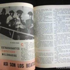 Revistas de música: BEATLES REVISTA ORIGINAL EN ESPAÑA JULIO 1965 JOVENES RARO . Lote 143715398