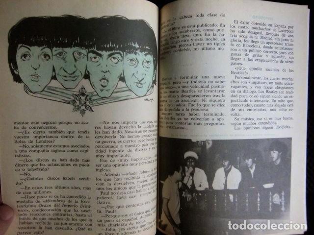 Revistas de música: BEATLES REVISTA ORIGINAL EN ESPAÑA JULIO 1965 JOVENES RARO - Foto 2 - 143715398