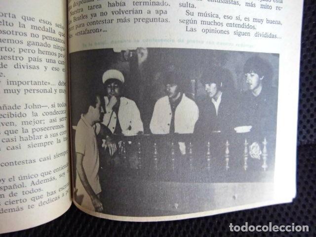 Revistas de música: BEATLES REVISTA ORIGINAL EN ESPAÑA JULIO 1965 JOVENES RARO - Foto 3 - 143715398